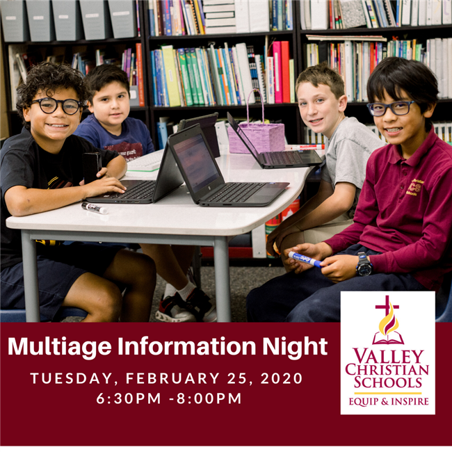 Multiage Information Night