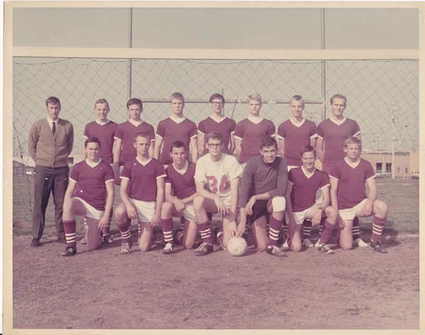Mens Soccer 1969 CIF Champs Honored at Homecoming