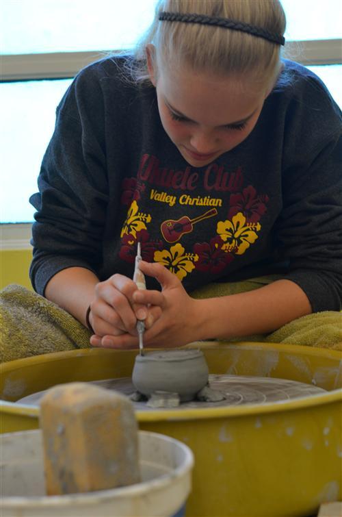 VCHS Art student